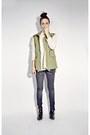 Olive-green-army-sheinsidecom-vest
