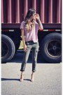 Light-purple-loose-fit-ardene-t-shirt