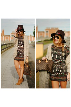 Sheinside dress - Fiorella hat
