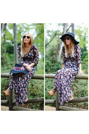 Fiorella hat - Sheinside dress
