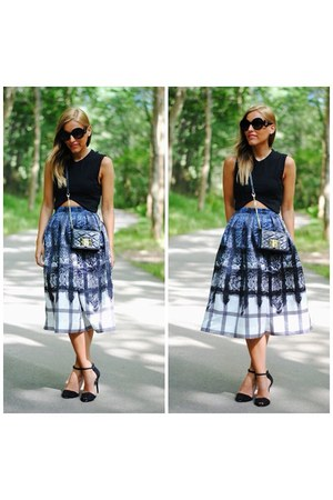 Chicwish skirt - Choies sunglasses