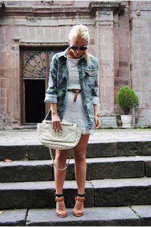 Zara sandals - Primark dress - Lefties shirt - Purificacion Garcia bag