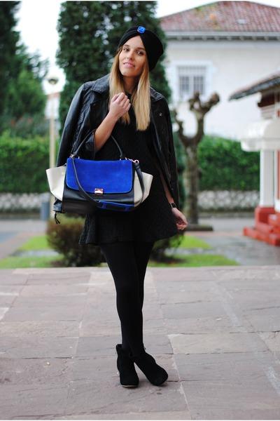PERSUNMALL bag - Fiorella atelier hat - Choies jumper