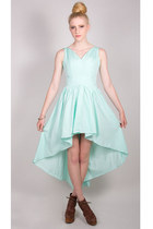 aquamarine La Petite Marmoset dress