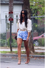Spiked-metallic-asos-belt-suede-strappy-calvin-klein-shoes-vintage-shorts