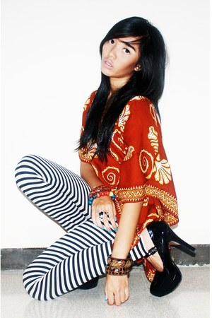 batik Roro Jonggrang top - up2date leggings