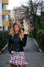 Zara-boots-stradivarius-jacket-new-yorker-skirt
