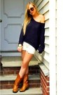 Tan-cowboy-zara-boots-navy-knit-free-people-sweater-white-denim-work-custom