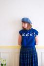 Crimson-vintage-boots-sky-blue-vintage-hat-black-monoprix-tights