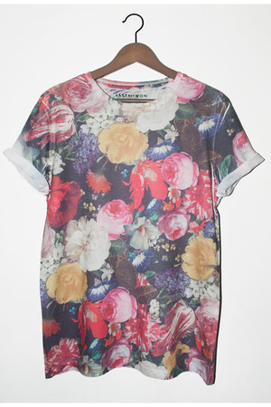 floral Last But Won t-shirt