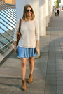Bronze-mango-boots-sky-blue-jeans-h-m-dress-bronze-marc-by-marc-jacobs-bag