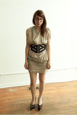 ideeen NYC dress - Forever 21 belt - Jil Sander shoes