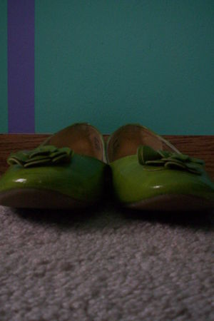 green Fashion Bug shoes