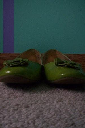 green Fashion Bug shoes