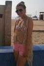 Primark-shorts-primark-sunglasses-primark-t-shirt-select-cardigan