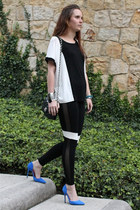 Chanel purse - Zara pumps - Forever21 t-shirt - Cartier watch