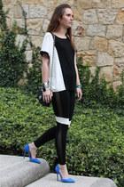 Chanel purse - Zara pumps - Forever21 t-shirt - Cartier watch
