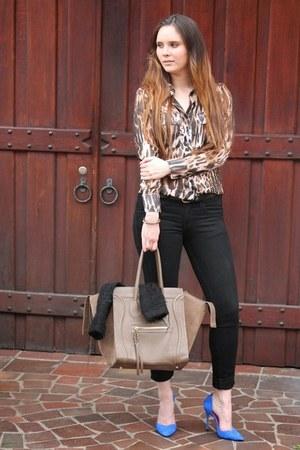 Celine bag - Zara heels