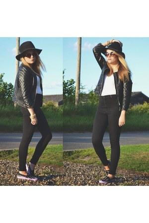 black joni jeans Topshop pants