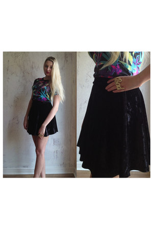 choiescom t-shirt - Primark skirt - River Island ring