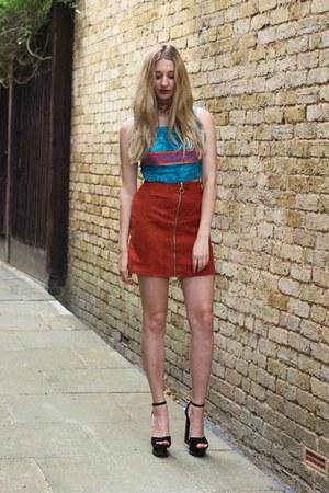Loving Youth top - Primark skirt