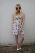 Topshop dress - OASAP sunglasses - Missguided heels