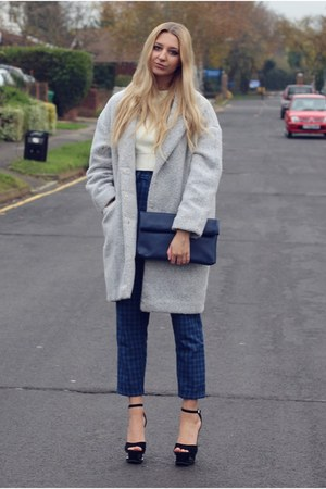 Primark coat - Chi Chi bag - Loving Youth pants - Missguided top
