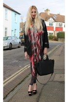 Rosewholesale jacket - Topshop shirt - new look scarf - Zara bag