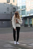 Joy sweater - River Island jeans - Adidas sneakers