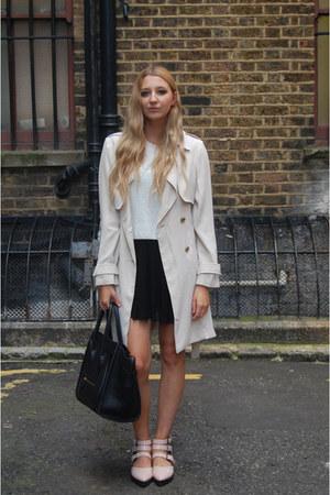 Primark shoes - H&M dress - Primark coat - Celine bag - Boohoo top
