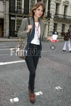 Alexa Chung at fashion week