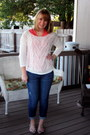 Blue-lc-lauren-conrad-jeans-white-old-navy-sweater