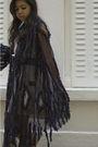 Black-if-six-was-nine-cardigan-beige-vintage-dress-black-barneys-shoes-sil