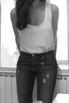 Paige jeans - TNA top