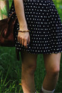 Navy-polka-dot-skirt