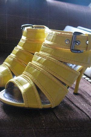 yellow YRYS shoes