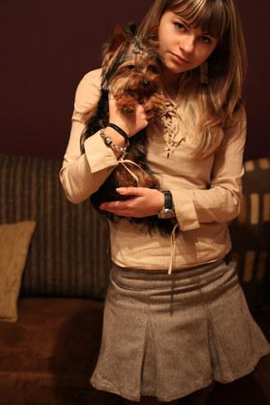 pull&bear skirt - Mango blouse