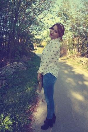 Zara shirt - Rocket Dog boots - Zara jeans