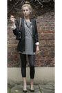 Black-h-m-blazer-gray-mango-dress-black-h-m-leggings-black-dunnes-store-ba