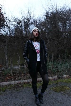 black nastygal jacket