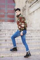 Dr Martens boots - Cheap Monday jeans - 1facewatch accessories - Zara bodysuit