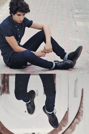 docs shoes - zara jeans - asos shirt