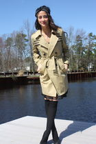beige John Paul Gaultier for Target coat - black Marc Jacobs shoes - black H&M s