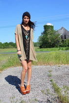 black Forever 21 accessories - beige rachel rachel roy dress - blue Forever 21 n