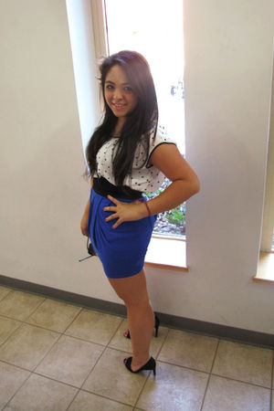 shoes - skirt - top