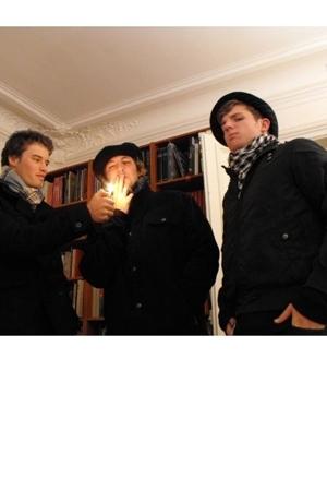 espirit jacket - cotton on scarf - freee hat