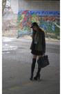 Black-new-era-hat-olive-green-furst-of-a-kind-jacket-micro-tote-celine-bag