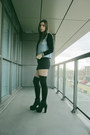 Platform-bootie-mtng-shoes-heels-michael-stars-dress-brandy-melville-vest