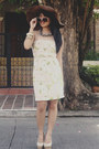 Eggshell-floral-forever-21-dress-beige-people-are-people-heels