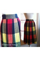 vintage from etsy skirt